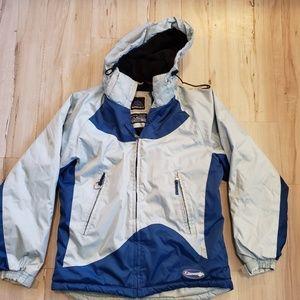 Jackets & Blazers - Snozu Blue Light Blue Heavy Weight Womens Coat